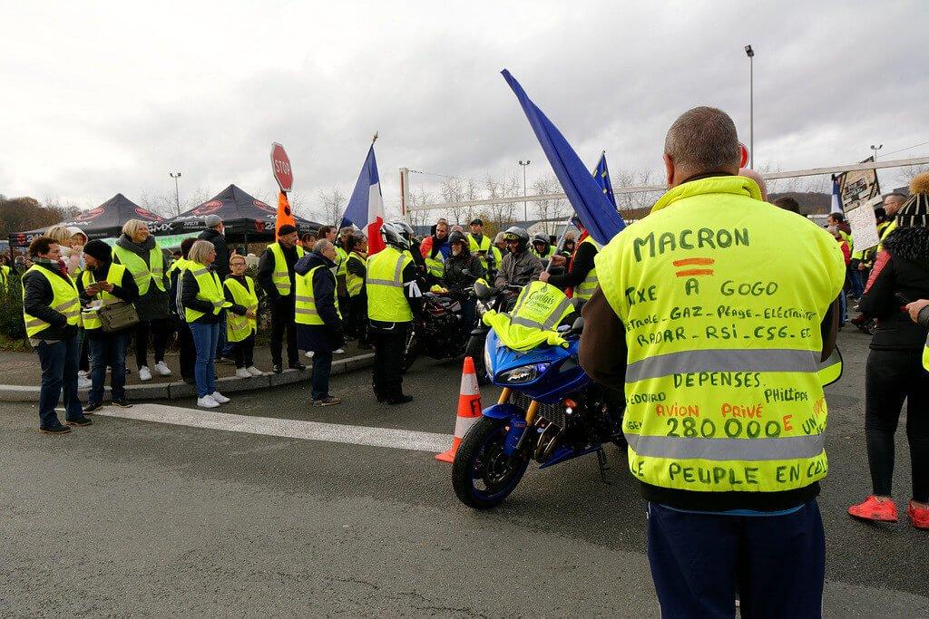 économie française gilets jaunes