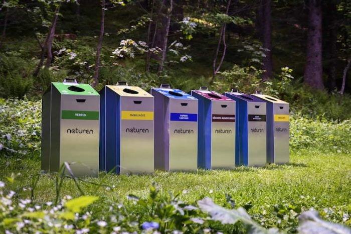 poubelle tri selectif naturen nature